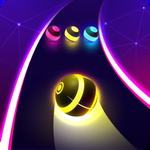 Dancing Road: Color Ball Run! free software for iPhone and iPad