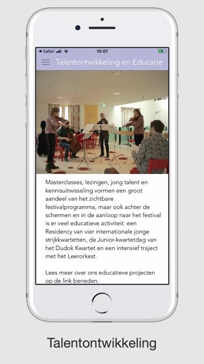 String Quartet Biennale A'dam screenshot-3