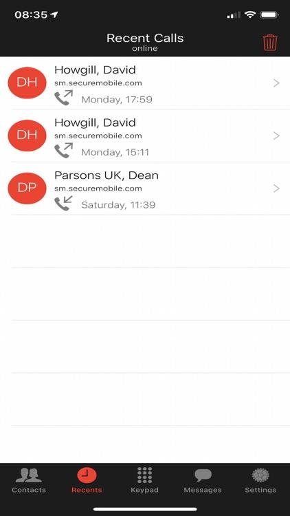 SM Secure Mobile screenshot-4