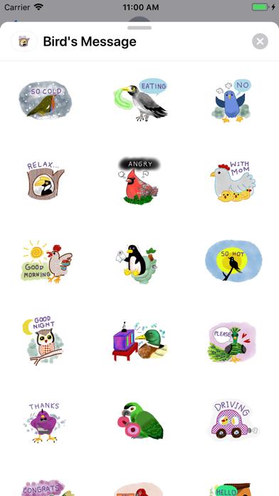 Bird's Message screenshot 1