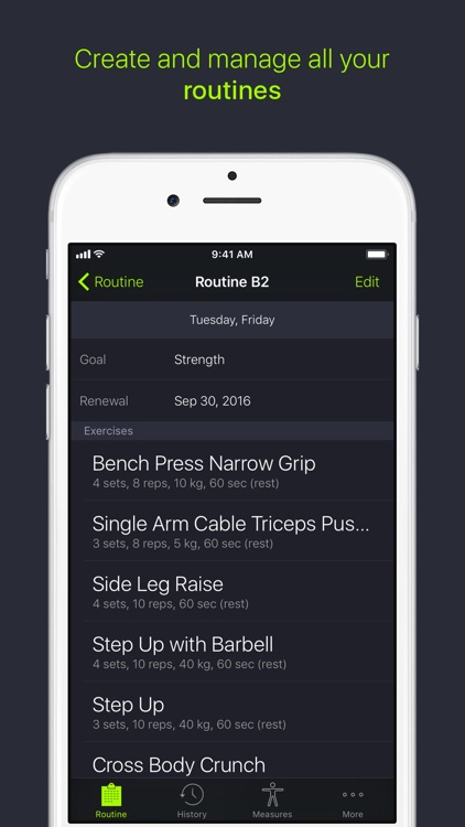 SmartGym: Manage Your Workout screenshot-0