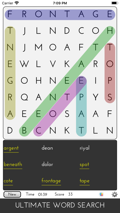 Ultimate Word SearchScreenshot of 1