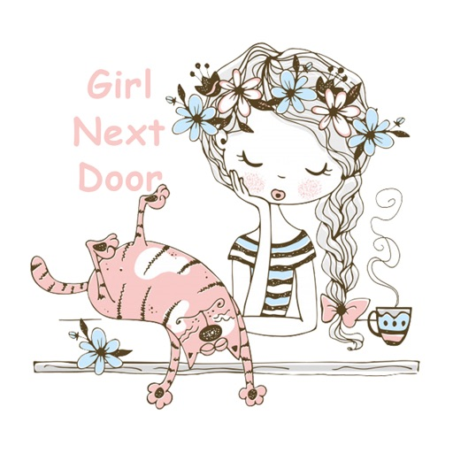 Girl Next Door Stickers
