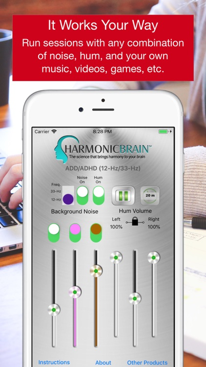 HarmonicBrain ADD/ADHD screenshot-6