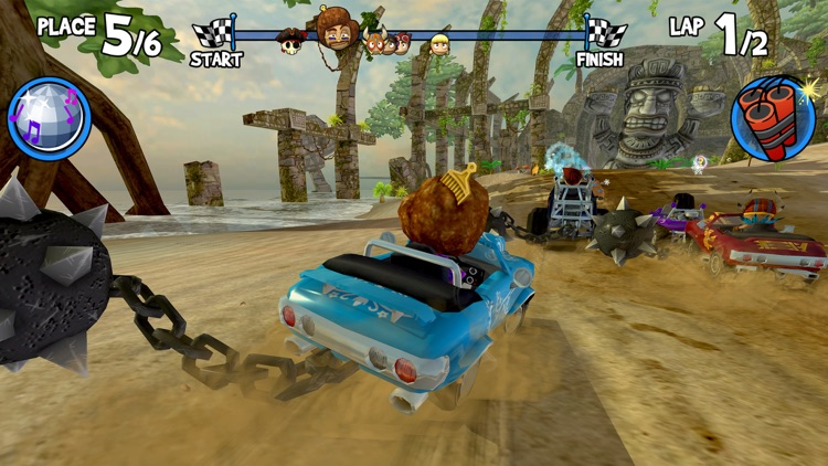Beach Buggy Racing screenshot-3