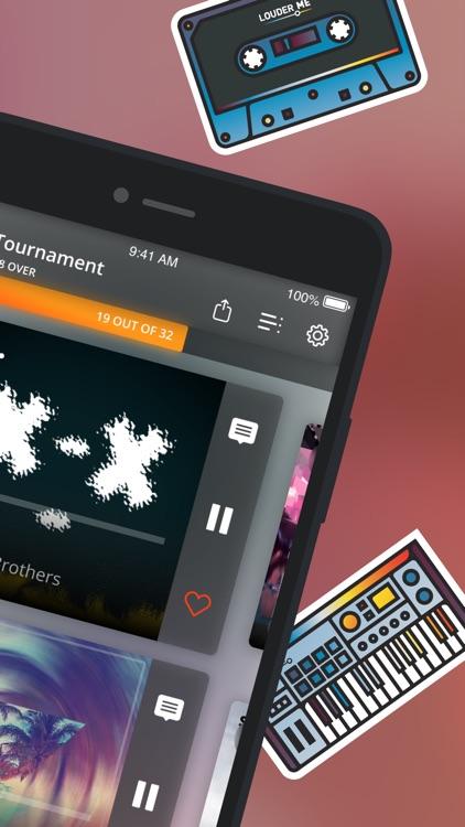 Louder.me - new music app