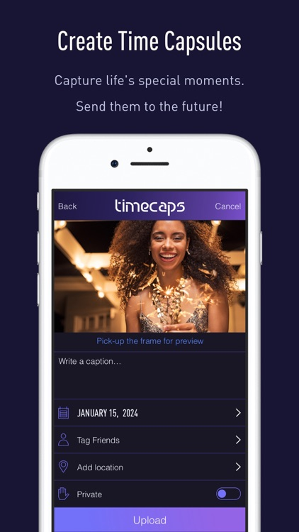 TimeCaps Video Sharing