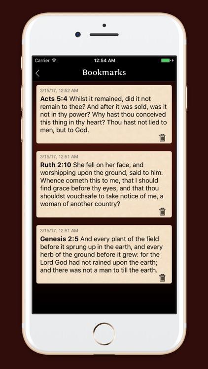 Douay - Rhiems Catholic Bible screenshot-3