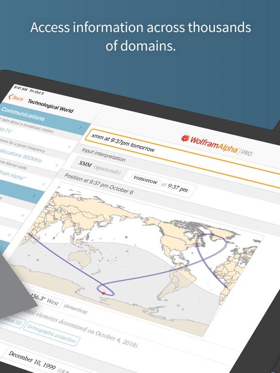 WolframAlpha Screenshots
