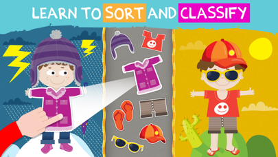 Pre-k preschool learning games screenshot one