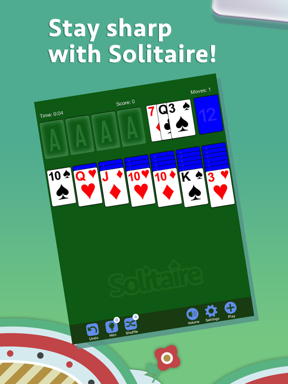 iPad Image of Solitaire·