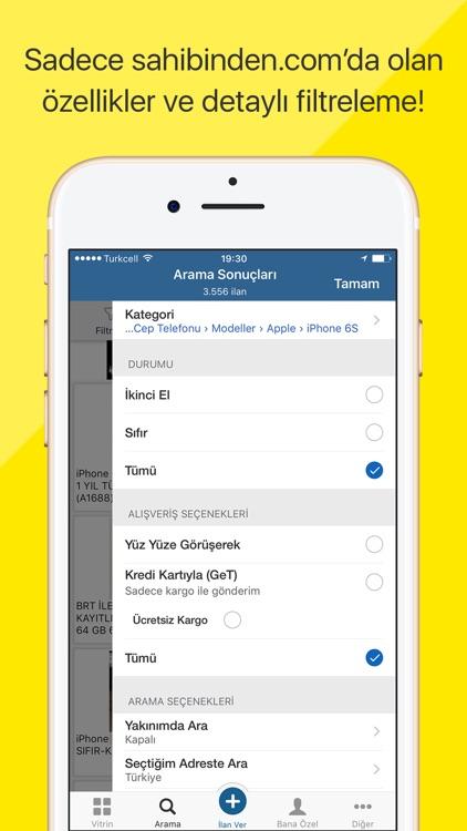 sahibinden.com: Al,Sat,Kirala screenshot-3