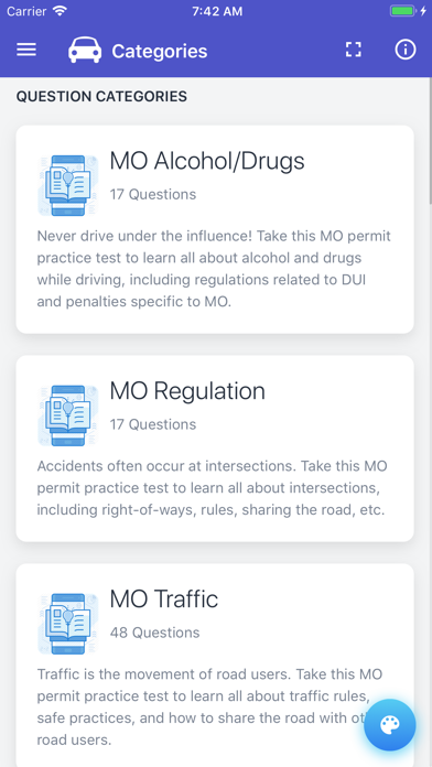 Missouri DOR Practice Exam app image