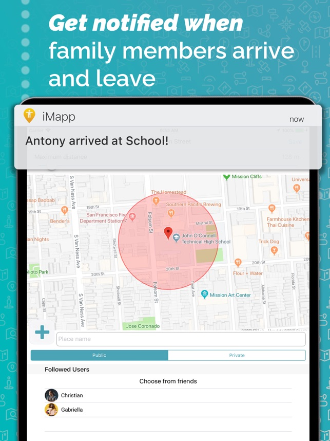 iMapp - Find my Phone, Friends on the App Store