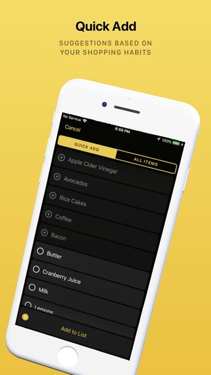 Grocery - Smart Shopping List screenshot-5