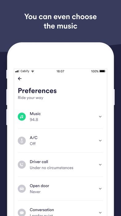 Cabify by Maxi Mobility, Inc  (iOS, United Kingdom) - SearchMan App