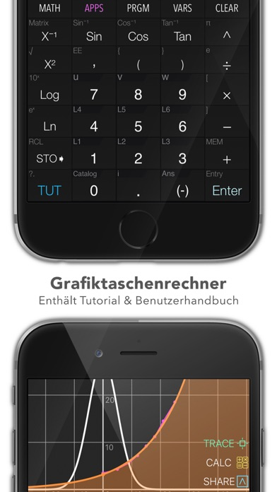 Screenshot for Graphing Calculator Plus in Austria App Store