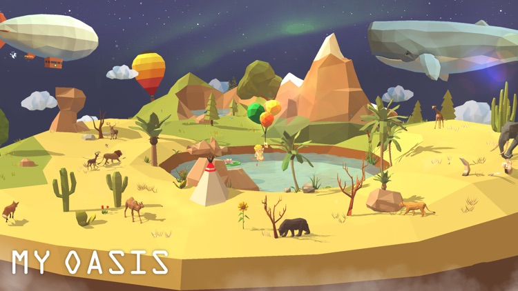 My Oasis: Relaxing Clicker App