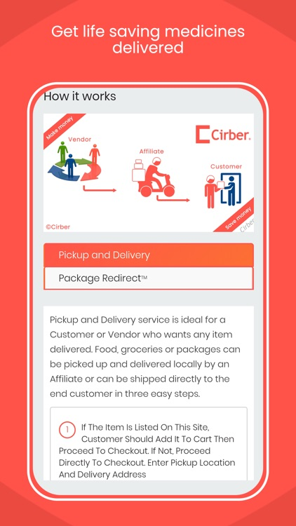Cirber - Online Food Order screenshot-6