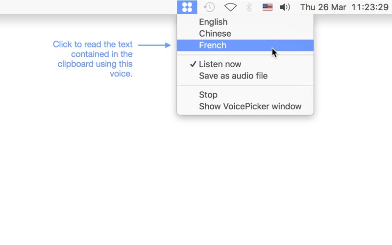 VoicePicker скриншот программы 1