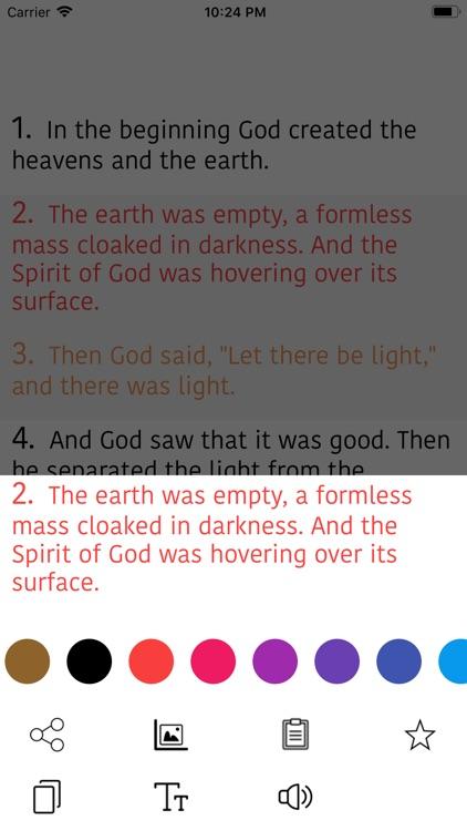 Arabic Bible screenshot-7