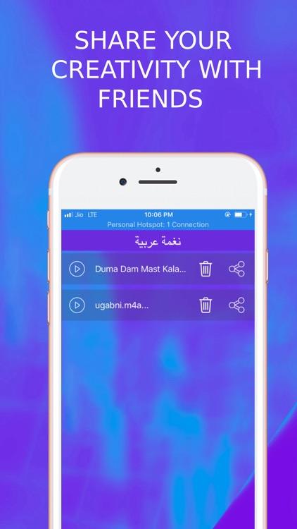 Arabic Ringtone Designer