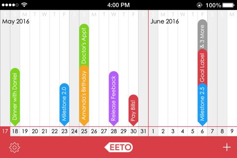 Eeto Calendar - náhled