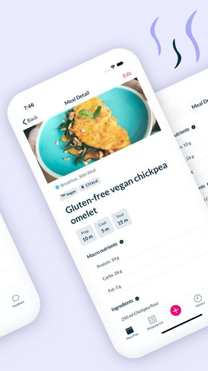 Foodjo meal plan assistant screenshot-5