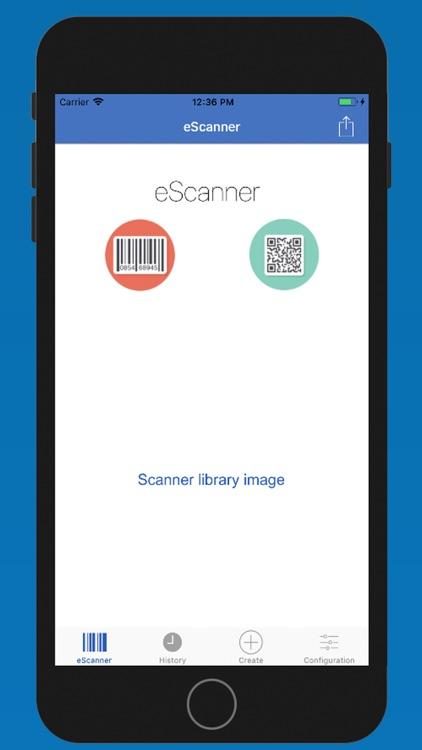 eScanner code reader QR