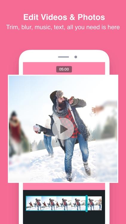 PhotoGrid - Pic & Video Editor screenshot-3
