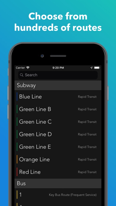 Screenshot for ProximiT: MBTA Bus and Subway in United States App Store