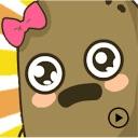 Animated Ms. Potato Sticker
