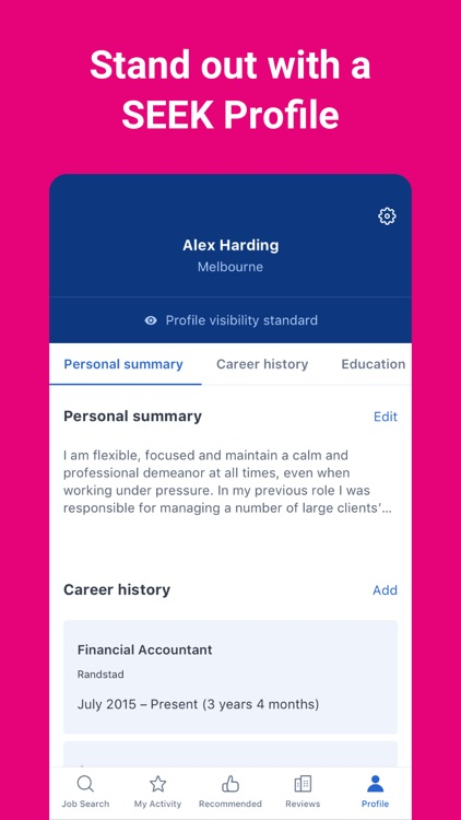 SEEK - Job Search screenshot-4