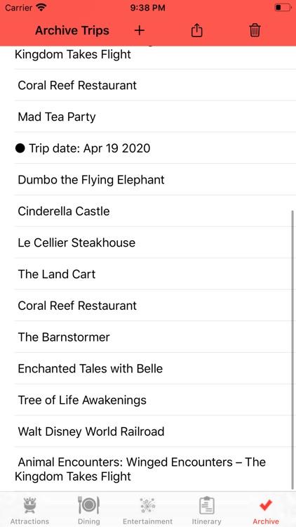 Theme Park Checklist: Bay Lake screenshot-4