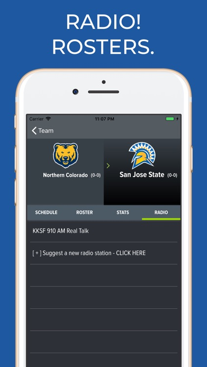 San Jose State Football App screenshot-1