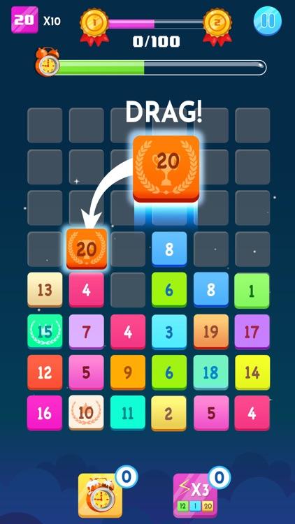 Number Blocks - Merge Puzzle screenshot-0