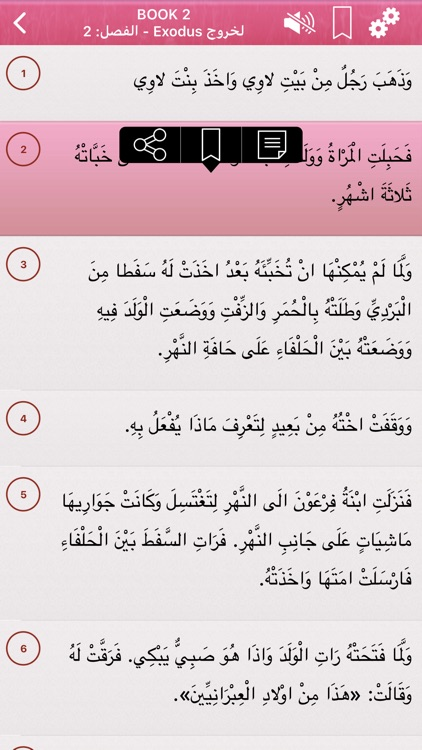 Arabic Holy Bible Audio mp3 screenshot-4