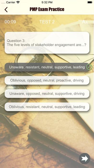 PMP Revision Aid screenshot 4