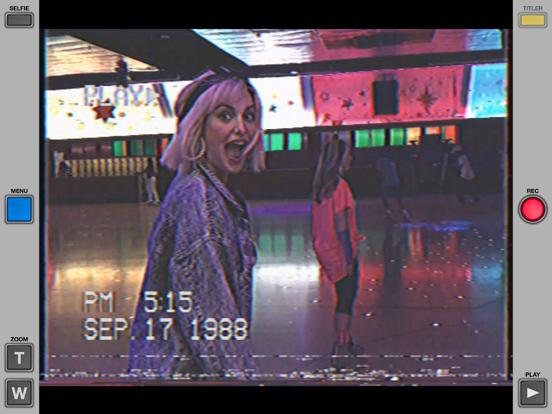 VHS Cam - Retro 80s Camcorderのおすすめ画像1