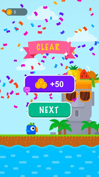 Square Bird Flappy screenshot-3