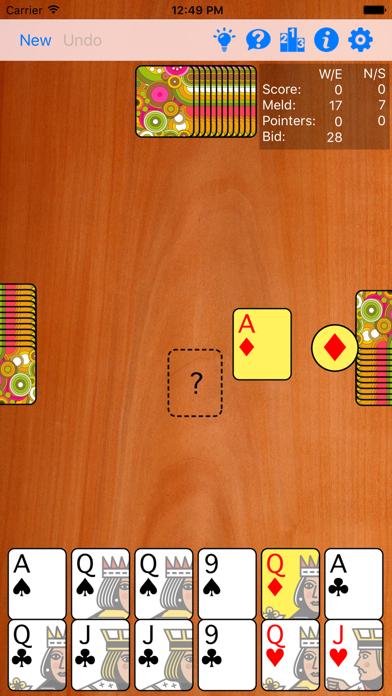 Pinochle Gold screenshot four