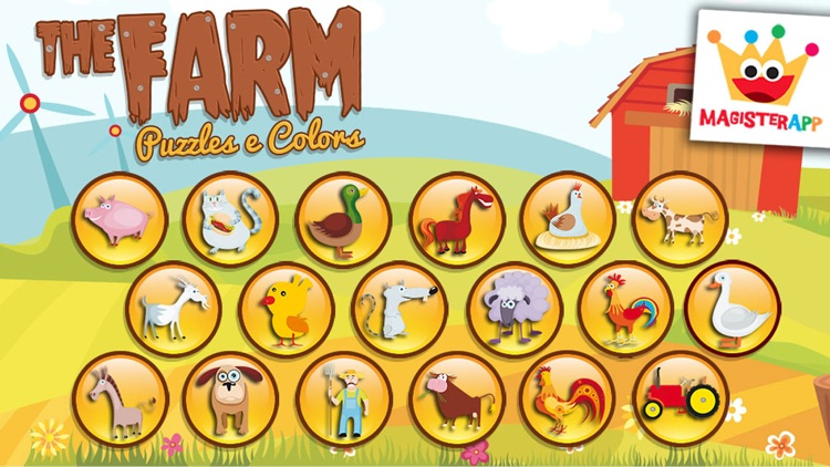 Farm:Animals Games for kids 2+