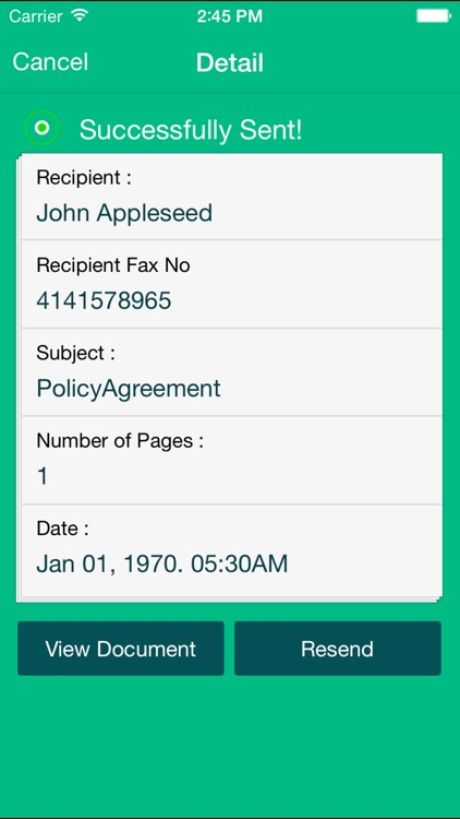 Fax Pro - send receive faxes screenshot-4