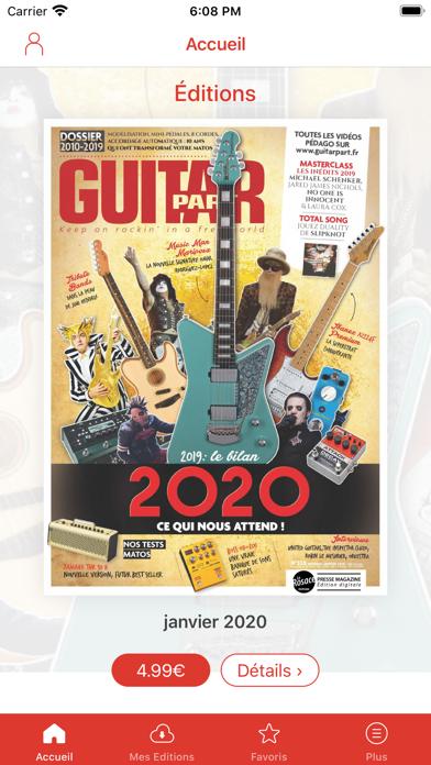 Guitar Part Screenshot