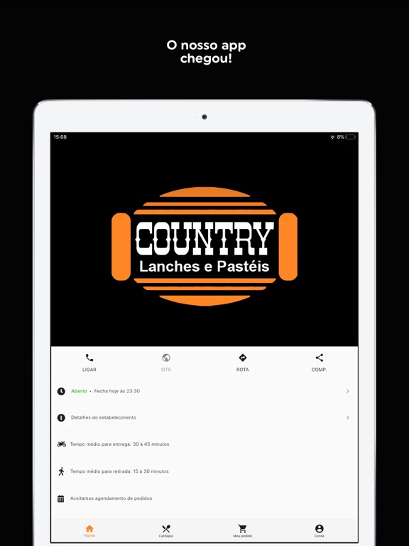 Country Lanches & Pastéis screenshot 7
