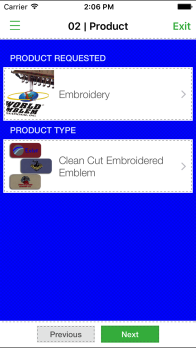 World Emblem Apparel Decorator screenshot three