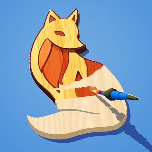 Woodcraft - 3D Carving Game icon