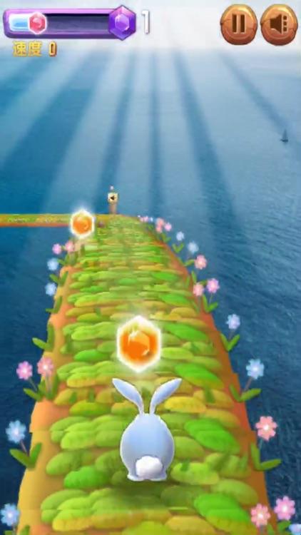 兔兔快跑 - 水上乐园3D跑酷 screenshot-4