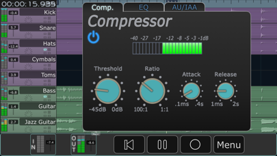 Multitrack Daw review screenshots