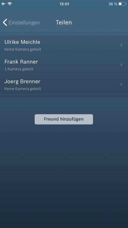 Bosch Smart Camera screenshot-4
